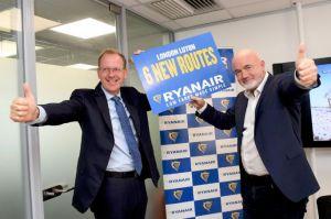 Ryanair stationiert für neue Ziele mehr Flugzeuge in London