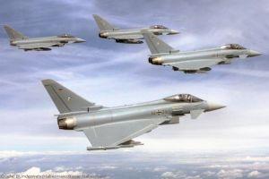Deutsche Eurofighter sichern Luftraum im Baltikum