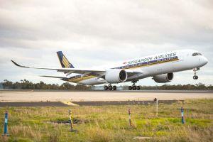 SIA mit Airbus A350 XWB und Regional Business Class