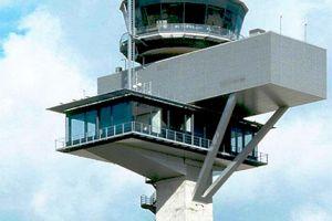 ILS-Vermessung am Frankfurter Flughafen
