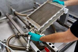 Patent: Dampfreinigung der Wärmetauscher bei LHT
