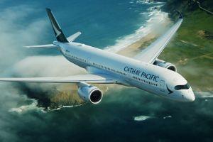 Cathay Pacific A350 schließt Hong Kong an Franfkurt an