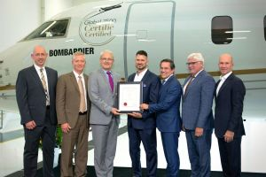 Bombardier Global 7500 mit Musterzulassung