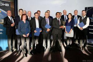 DGLR ehrt Galileo Entwicklungsteam von OHB