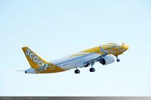 A320neo erstmals an Scoot geliefert