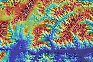 Erde in 3D: DEM mit 90-Meter Auflösung kostenlos