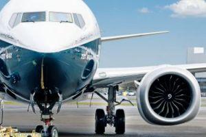 Boeing 737 MAX 8 bei Lufthansa Technik