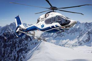Airbus Helicopters mit H160 auf Helitech International