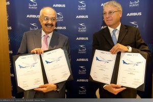 Kuwait ordert neue A330neo, A320 und A350 XWB