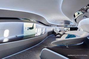 BBJ MAX zur NBAA-BACE bereit für neues Innendesign