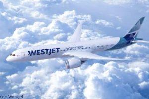 Lufthansa Technik versorgt Dreamliner von WestJet