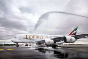 Emirates läutet A380 im Linienflug nach Hamburg ein