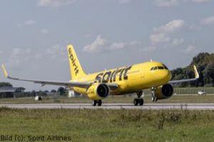 Erster Overhaul für Airbus A320neo der Spirit Airlines