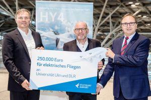 STR: finanzieller Schub für Elektrisches Fliegen