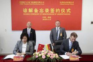 Lufthansa Technik zur Ausbildung von SAMC in China