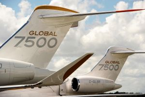 Bombardier Global 7500 mit Musterzulassung der FAA