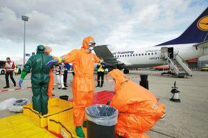 Gefährliches Fieber an Bord: ICAO-Notfall am Fraport