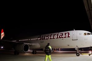 Austrian Airlines brandet A321 mit neuem Logo