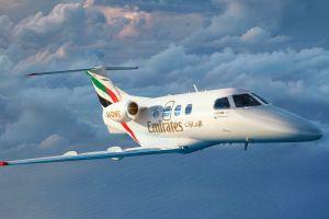 Emirates mit Flugschule auf der Bahrain Airshow