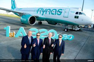 Flynas erster Betreiber der A320neo in Saudi Arabien
