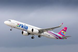 Airbus A321LR bei erster Airline ARKIA