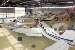 AAS expandiert in Hangar 2 – Größere Fluggeräte