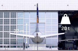 Wird passend gemacht: A380 für Wartung in München