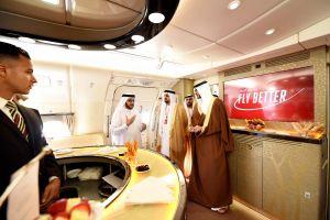 Luxus im A380: Emirates auf der Bahrain Airshow