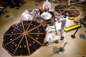 Maulwurf für den Mars bereit zur Landung