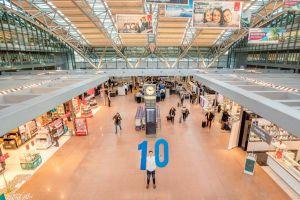 HAM feiert erstes Jahrzehnt Airport Plaza