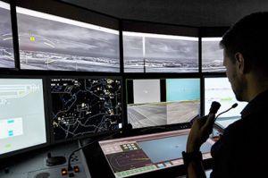 Remote Tower Control in Saarbrücken im Regelbetrieb
