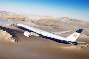 Boeing verkündet BBJ 777X bei MEBAA