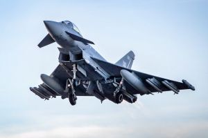 Eurofighter Typhoon jetzt mit Missile Meteor