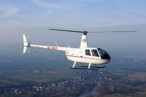 R44 für Militär-Flugschüler in Polen übergeben