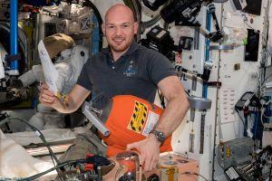 Landung von Astronaut und Kommandant Gerst