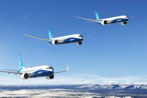 796 Ziviflugzeuge von Boeing 2018 ausgeliefert