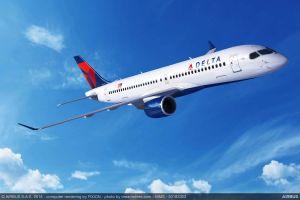 Delta Air Lines ordert mehr und größere Airbus A220