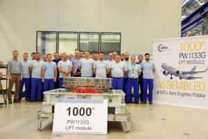MTU in Polen feiert 1.000. Triebwerk
