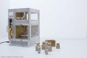 Thermoplastik aus dem 3D-Drucker: Fertigung in ISS