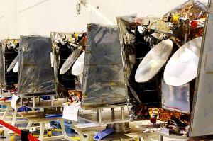 OneWeb: erster Satellit der Megakonstellation