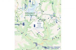 Austro Control aktualisiert Onlinekarte VFR Austria