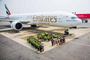 Luftfahrt in Ghana seit 15 Jahren mit Emirates