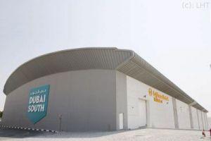 LHT in Dubai hat sich mit Hangar vergrößert