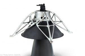 3D-Druck für Mondlander nimmt Reise auf