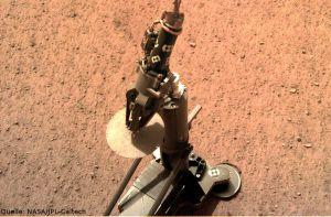 Deutsche Technik hämmert auf den Mars ein