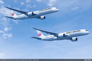 A350-Neukunde JAL nutzt FHS von Airbus