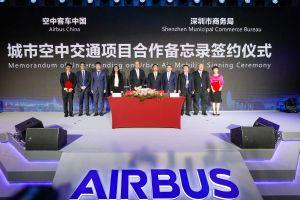 Airbus eröffnet Innovationszentrum ACIC in China
