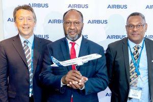 Vanuatu bestellt moderne Flugzeuge Airbus A220
