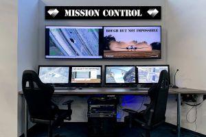 Diamond DA42 fliegt mit modernstem EO/IR Sensorsystem