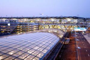 Köln Bonn Airport beschrankt Zufahrt